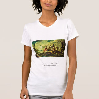 Tobias Cures His Blind Father By Guardi Francesco Tee Shirts