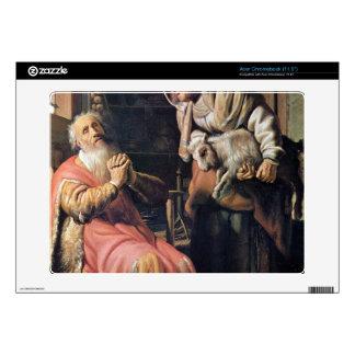 Tobias sospechó a su esposa del hurto de Rembrandt Acer Chromebook Calcomanías