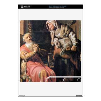 Tobias sospechó a su esposa del robo de Rembrandt Calcomanías Para PS3 Slim