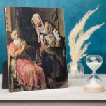 Tobias sospechó a su esposa del robo de Rembrandt Placa De Plastico