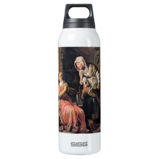 Tobias suspected his wife of stealing by Rembrandt Insulated Water Bottle