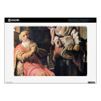 Tobias suspected his wife of stealing by Rembrandt Samsung Chromebook Decal
