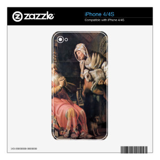 Tobias suspected his wife of stealing by Rembrandt Skins For iPhone 4S