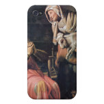 Tobias suspected his wife of theft by Rembrandt iPhone 4 Covers