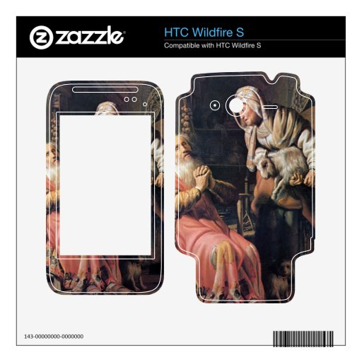 Tobias suspected his wife of theft by Rembrandt Decal For HTC Wildfire S