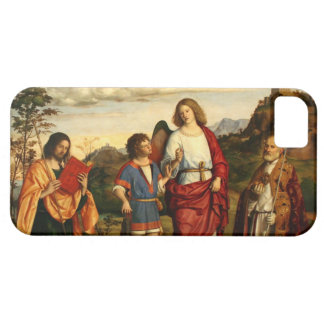 Tobias with the Archangel and Two Saints iPhone SE/5/5s Case