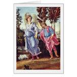 Tobias y el ángel de Filippino Lippi Felicitacion