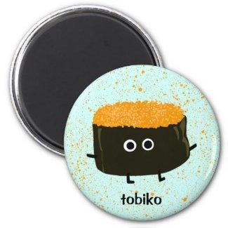 Tobiko Sushi Magnet