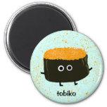 Tobiko Sushi Refrigerator Magnet