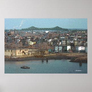 Tobin Bridge Rendering Print