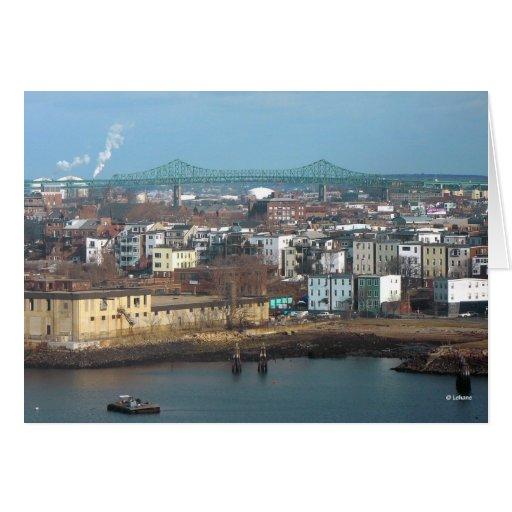 Tobin Bridge--thinking of you Card
