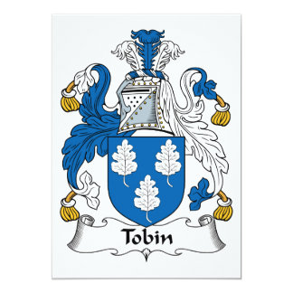 Tobin Family Crest Invitation