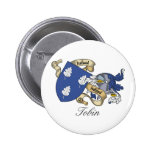 Tobin Family Crest Pinback Button