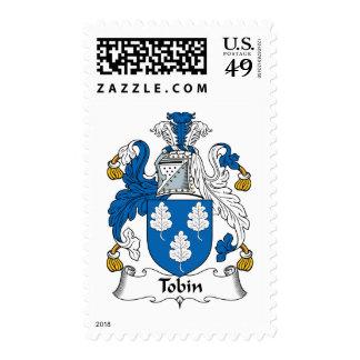 Tobin Family Crest Stamps