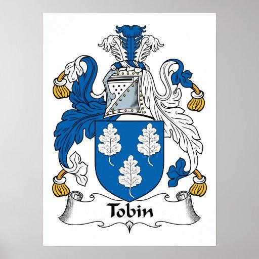 Tobin Family Crest Print
