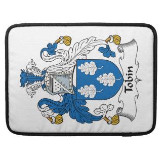 Tobin Family Crest Sleeve For MacBooks