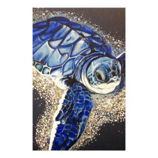Tobin la tortuga de mar del bebé papeleria