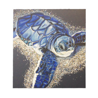 Tobin the baby sea turtle notepads