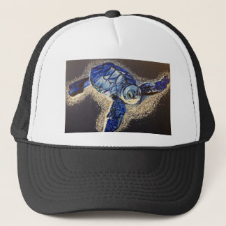 Tobin the baby sea turtle trucker hat