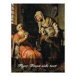 Tobit y Ana con el niño Bokje de Rembrandt Van Tarjetones