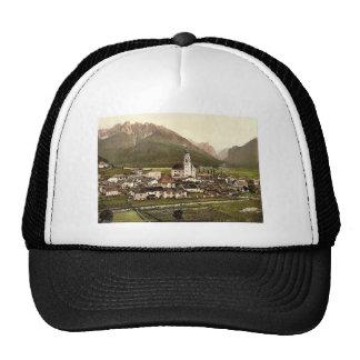 Toblach y Val Ampezzo, rar del Tyrol, Austro-Hungr Gorro