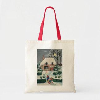 Tobogganing Tote Bag