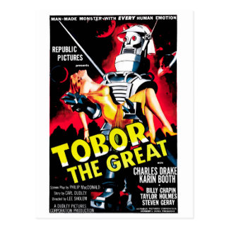 Tobor the Great Postcard