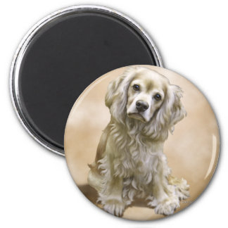 Toby 2 Inch Round Magnet