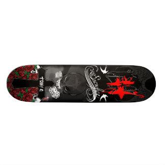 Toby C Wanna Play Skateboard Deck