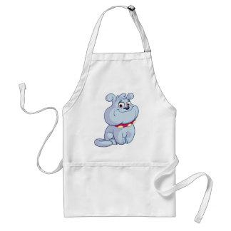Toby dog adult apron
