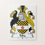 Toby Family Crest Jigsaw Puzzle