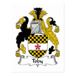 Toby Family Crest Post Cards