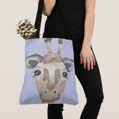 Toby Giraffe Tote Bag