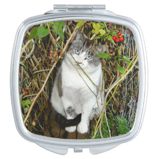 """""""Toby in Autumn"""" Compact Mirror"""