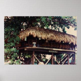 Toby Inn Tree House Bar, Montego Bay, Jamaica Larg Poster