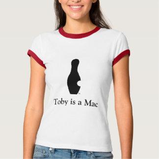 Toby is a Mac Women's Ringer T T-Shirt