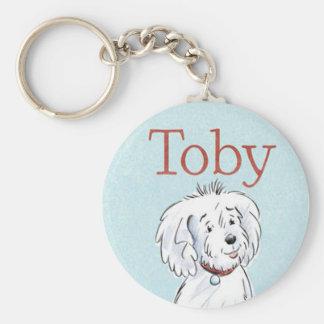 Toby Keychain