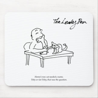 Toby or Not Toby Mousepad