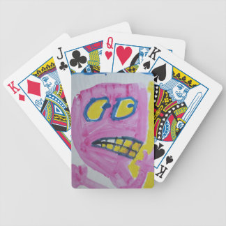 Toby - Pink portrait - Silly Poker Cards