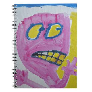 Toby - retrato rosado - tonto