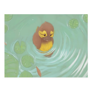 Toby the Duckling Postcard