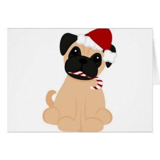 Toby the Pug Card