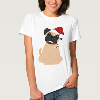 Toby the Pug Fitted Ladies Baby Doll Shirt