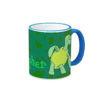 Toby Turtle Ringer Mug