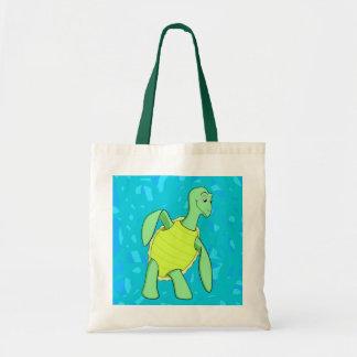 Toby Turtle Tote Bag
