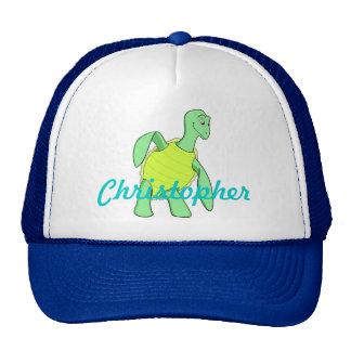 Toby Turtle Trucker Hat