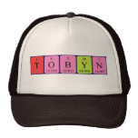 Tobyn periodic table name hat