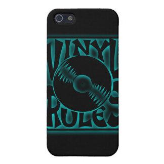 Tocadiscos 33rpm 45rpm del álbum de disco de iPhone 5 carcasa