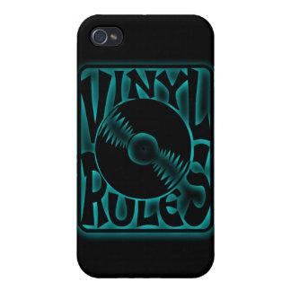 Tocadiscos 33rpm 45rpm del álbum de disco de vinil iPhone 4/4S carcasa