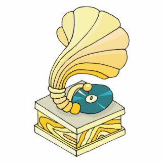 tocadiscos del fonógrafo adorno fotoescultura